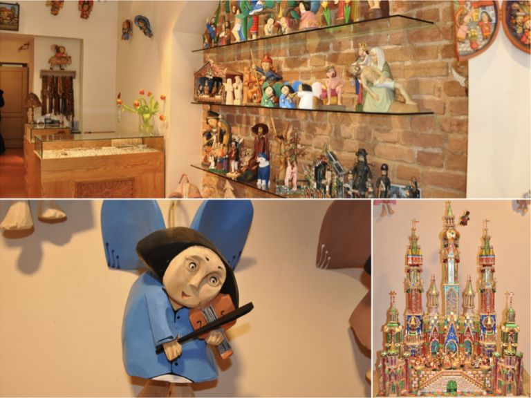 Drewniane ręcznie robione anioły i szopki bożonarodzeniowe idealne na prezent
